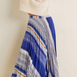 Mango Pleated Skirt